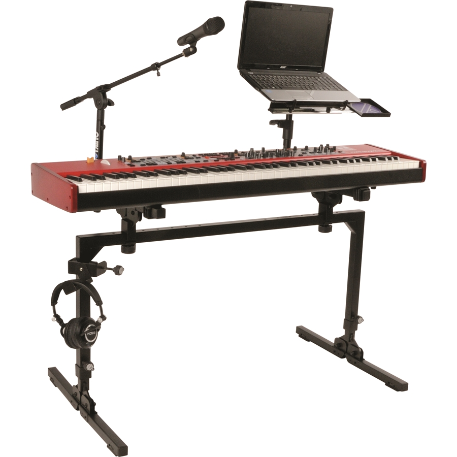 M/61 Large, Heavy Duty, Single-Tier Keyboard Structure