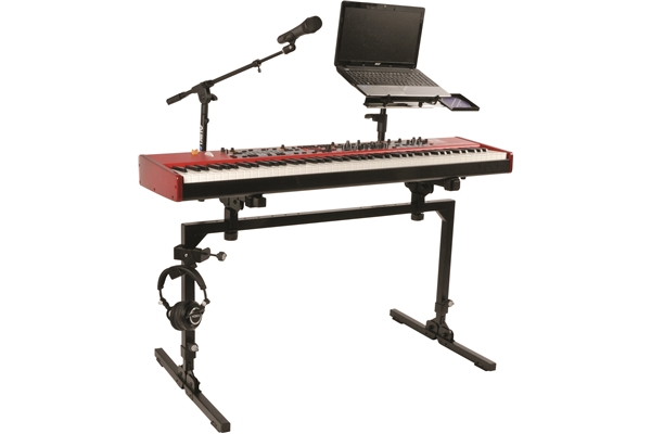 Quik Lok - M/61 Large, Heavy Duty, Single-Tier Keyboard Structure
