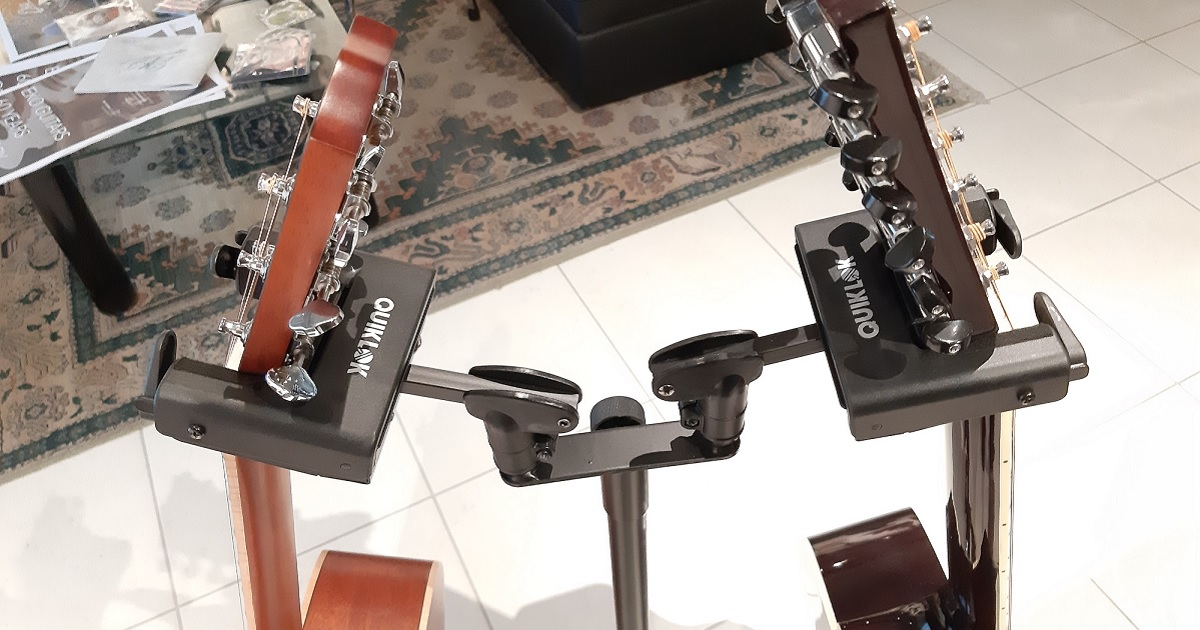 DISCOVER THE GS SERIES OF GUITAR STANDS!